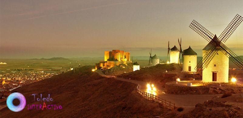 Los Molinos de viento y El Castillo de Consuegra