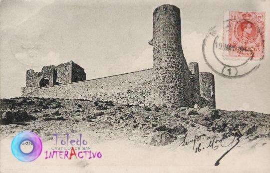 Castillo de San Servando (Toledo). Fototipia Lacoste