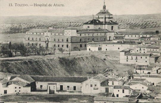 Hospital de Afuera (Toledo). Heliotipia Artística Española