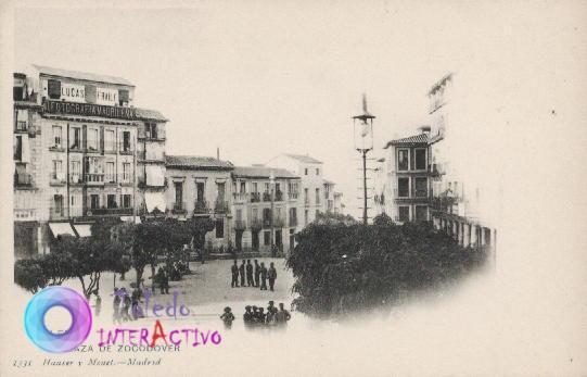 Plaza de Zocodover. 1331 Hauser y Menet (Madrid)