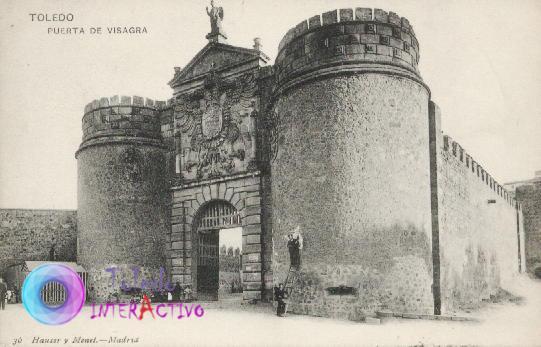 Puerta de Bisagra de Toledo. Hauser y Menet
