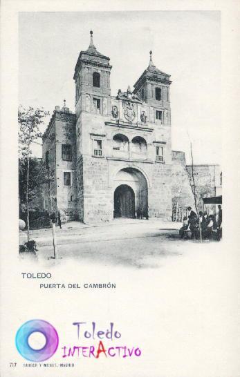 Puerta del Cambrón (exterior). Hauser y Menet