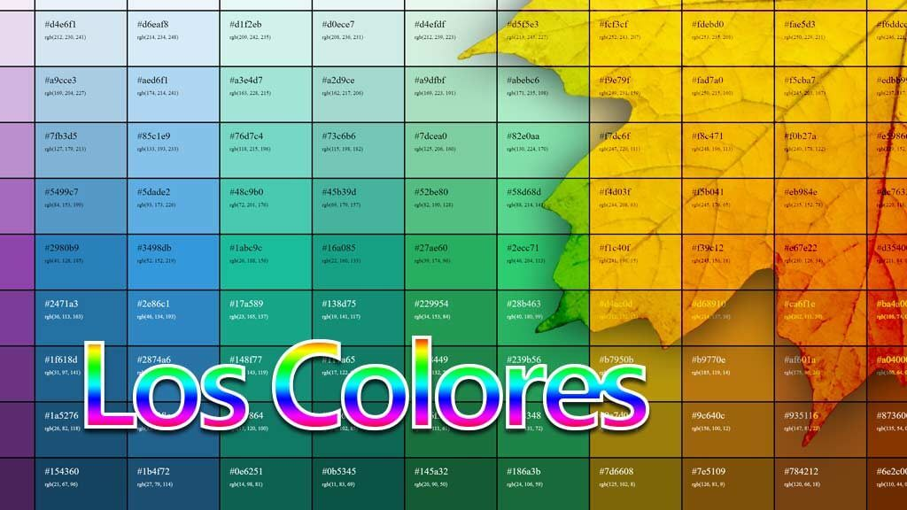 Qué significan los colores