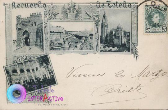Recuerdo de Toledo. 215 Hauser y Menet - Madrid.